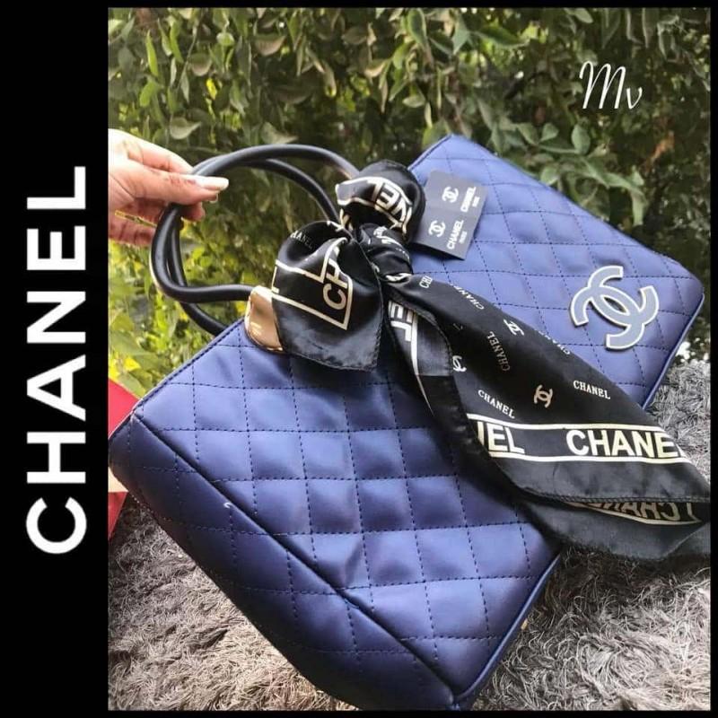 Chanel Handbag (Imported) - Dark Blue