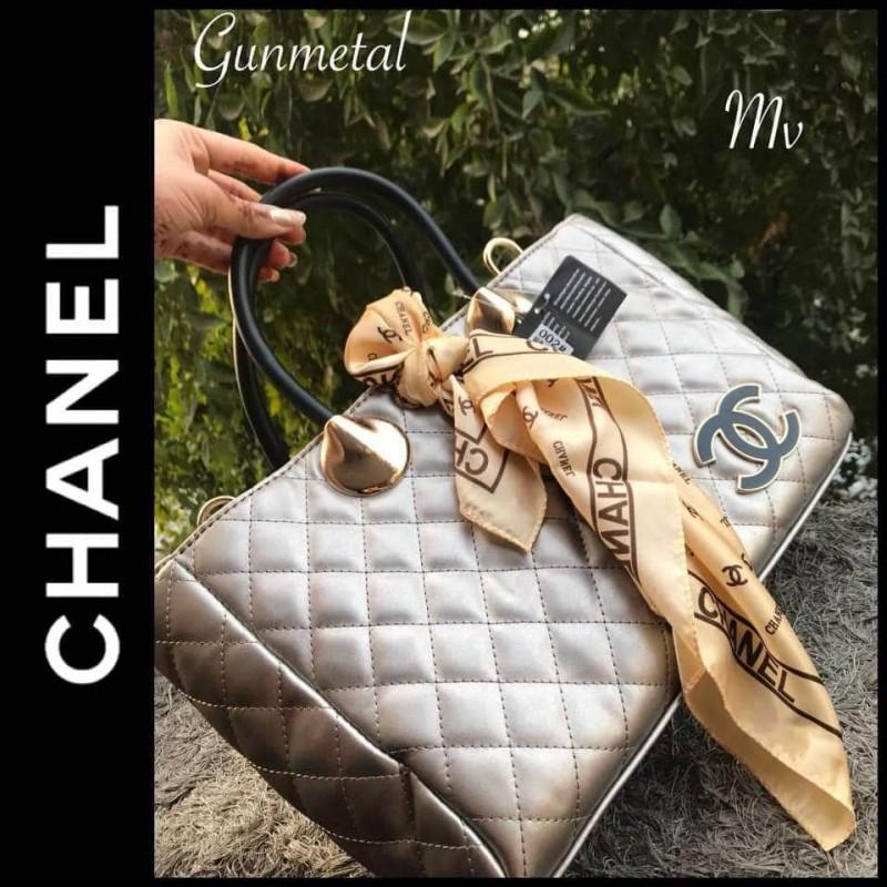 Chanel Handbag (Imported) - Gunmetal